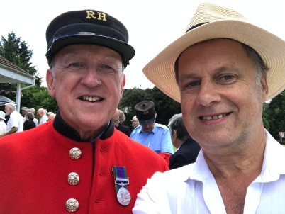 Chelsea Pensioners Me and John